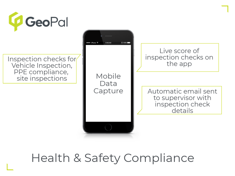 Health & Safety Compliance mobile data capture